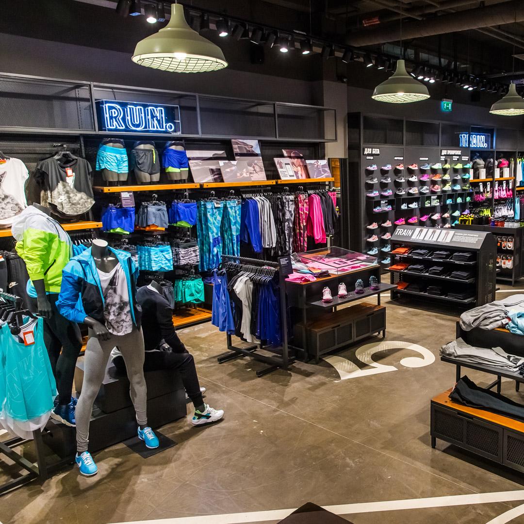 1ddce38f Nike. Магазин «Найк» в ТРЦ «Галерея Новосибирск»